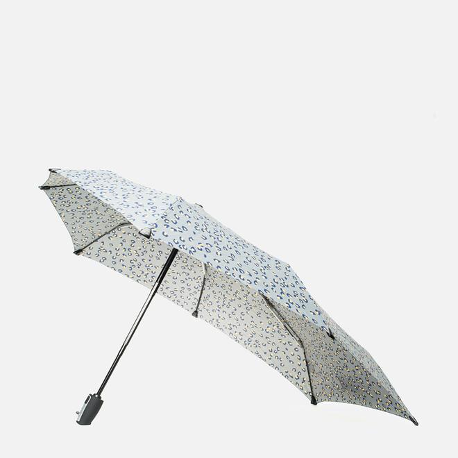 Зонт складной Senz umbrellas Senz6 Automatic Leopard Silver