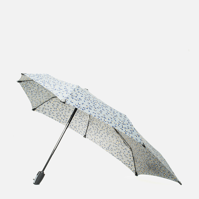 Senz Umbrellas Senz6 Automatic Folding Umbrella Leopard Silver