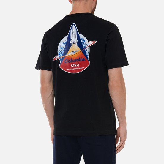 Мужская футболка Alpha Industries NASA Columbia Black