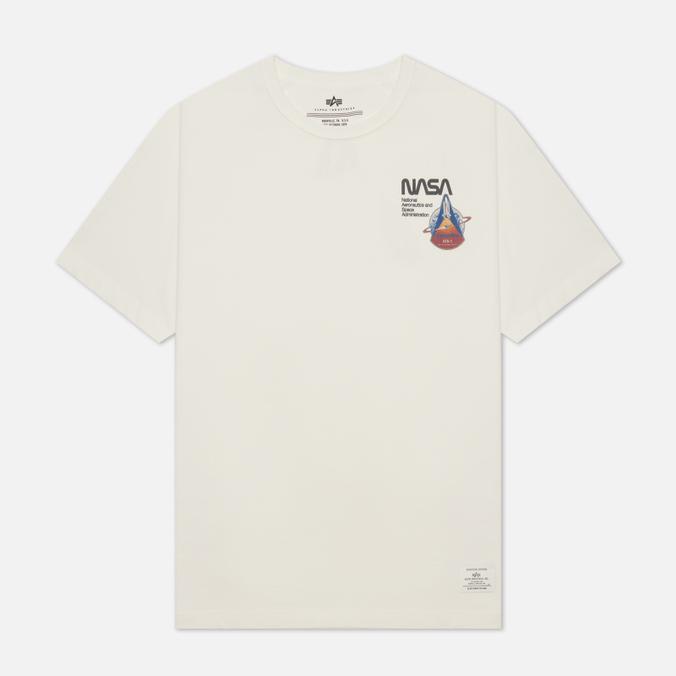 Мужская футболка Alpha Industries NASA Columbia columbia куртка утепленная мужская columbia snow country™ размер 46