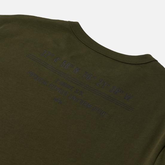 Мужская футболка Alpha Industries PT Base Olive