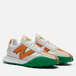 Кроссовки New Balance x Casablanca XC-72 Persimmon Orange/Jolly Green