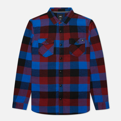 Мужская рубашка Vans Box Flannel Pomegranate/Nautical Blue