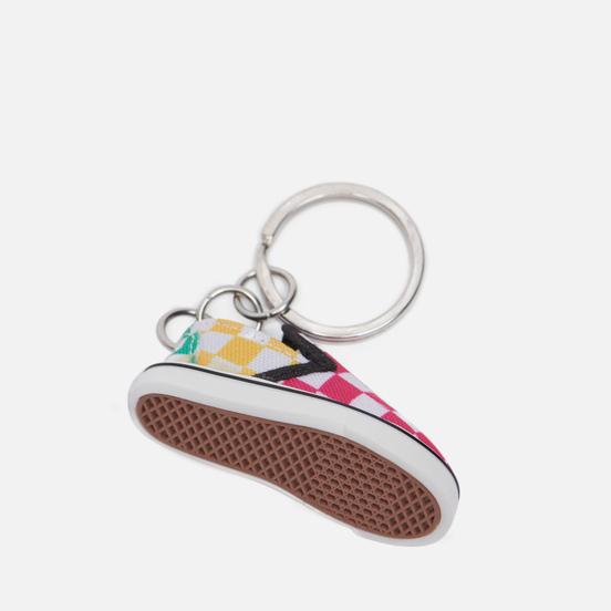 Брелок для ключей Vans Slip-On Keychain Checker Block