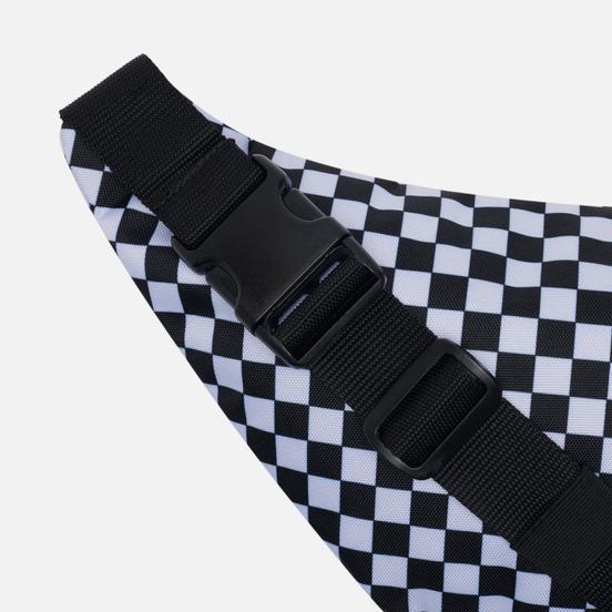 Сумка на пояс Vans Ward Cross Body P Black/White Check