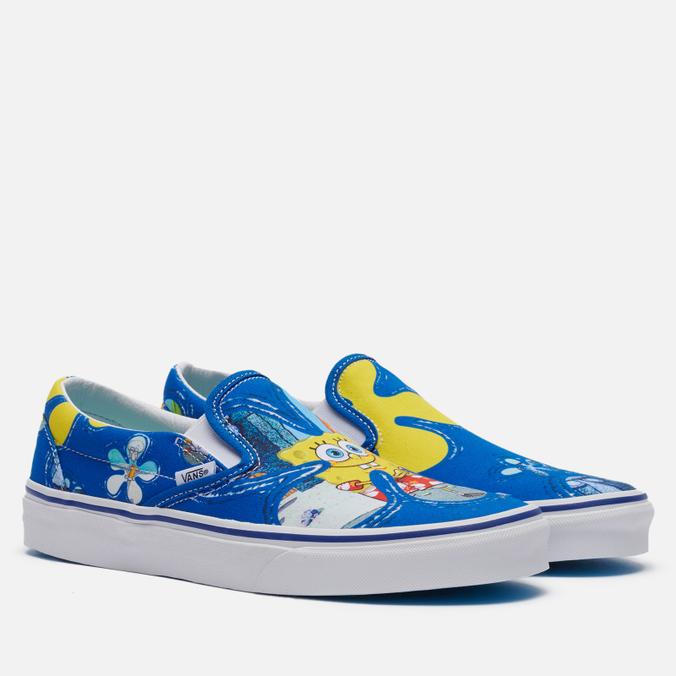 Кеды Vans x SpongeBob SquarePants Classic Slip-On