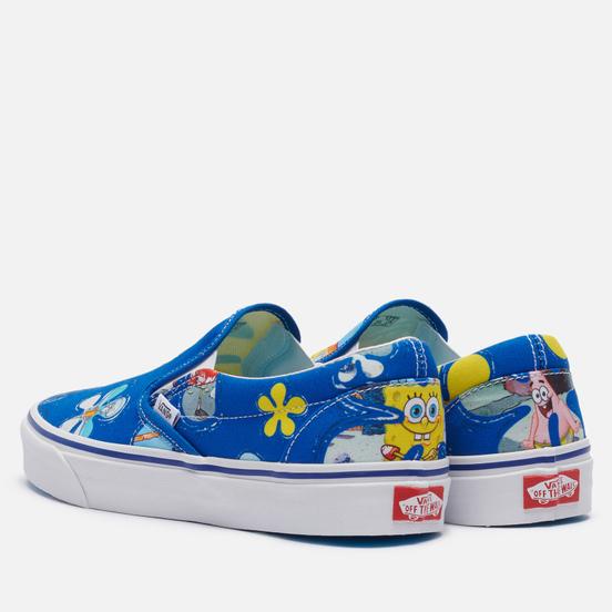 Кеды Vans x SpongeBob SquarePants Classic Slip-On Aloha Bob