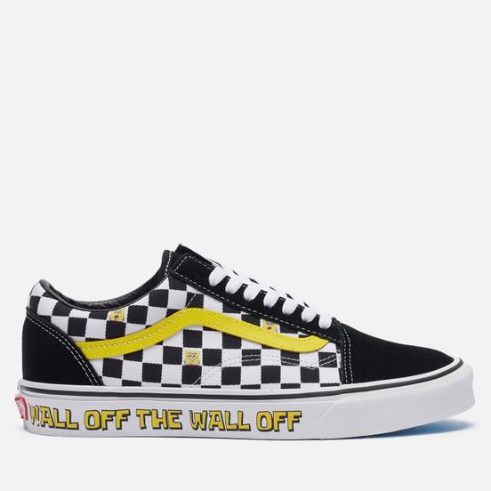 Мужские кеды Vans x SpongeBob SquarePants Old Skool Off The Wall