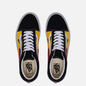 Кеды Vans Old Skool Flame Black/Black/True Whit фото - 1