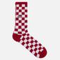 Носки Vans Checkerboard Crew Red/White Check фото - 0