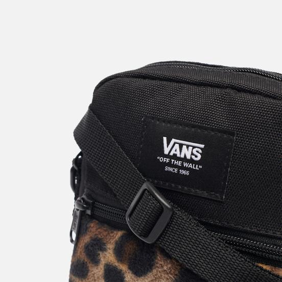 Сумка Vans Bail Shoulder Black/Leopard Print