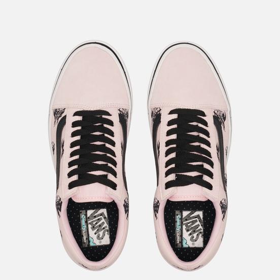 Кеды Vans Comfycush Old Skool Classic Sixty Sixers Blushing Bride/Black