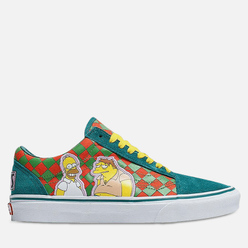 Мужские кеды Vans x The Simpsons UA Old Skool Moe's Green/Yellow/White