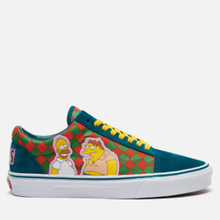 Кеды Vans x The Simpsons UA Old Skool Moe's Green/Yellow/White