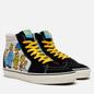 Мужские кеды Vans x The Simpsons UA SK8-Hi 1987-2020 Black/White/Blue фото - 0
