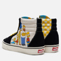 Мужские кеды Vans x The Simpsons UA SK8-Hi 1987-2020 Black/White/Blue фото - 2
