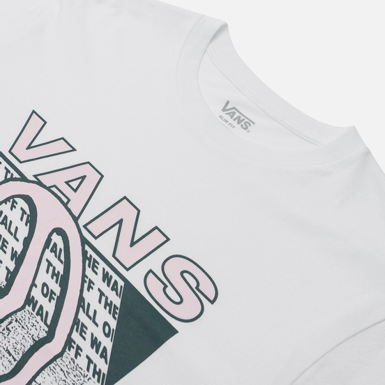 Мужская футболка Vans Dripping White