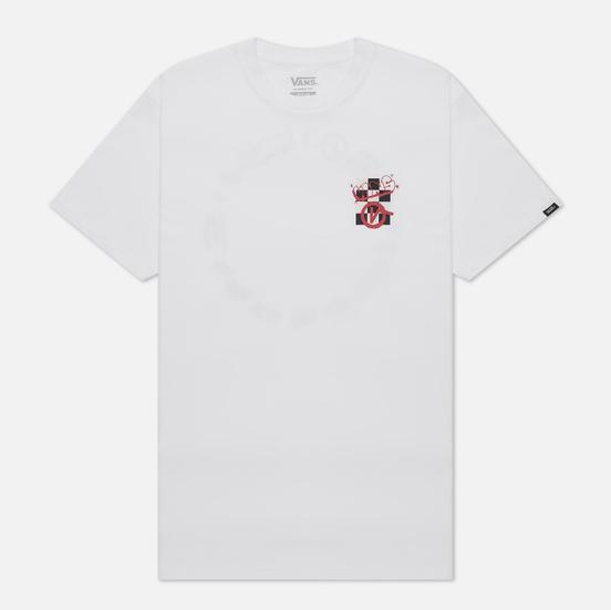 Мужская футболка Vans SS Crew White