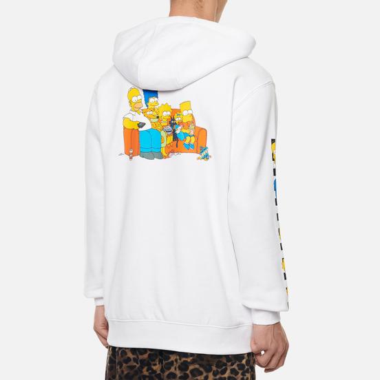 Мужская толстовка Vans x The Simpsons Family Hoodie White