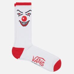Носки Vans x Horror Crew It White/Red