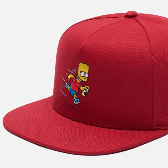 Кепка Vans x The Simpsons El Barto Red