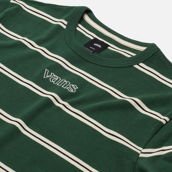 Мужская футболка Vans Stripe Sixty Sixers Pine Needle