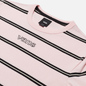 Мужская футболка Vans Stripe Sixty Sixers Cool Pink фото - 1