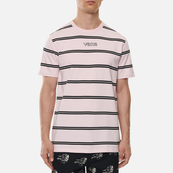 Мужская футболка Vans Stripe Sixty Sixers Cool Pink