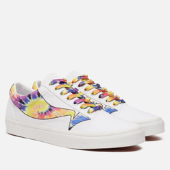 Кеды Vans Old Skool Low Multi Animal True White/Tie Dye