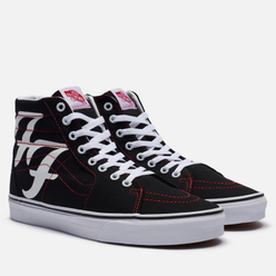 Мужские кеды Vans x Foo Fighters SK8-Hi Black/White
