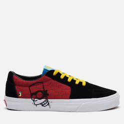 Кеды Vans x The Simpsons UA SK8-Low El Barto Black/Red/Blue