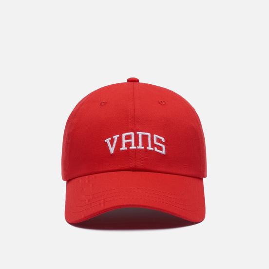 Кепка Vans New Varsity Curved Bill High Risk Red