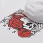 Мужская толстовка Vans Rose Bed Fleece Hoodie White фото - 2