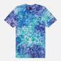 Мужская футболка Vans Tie Dye Checkerstripe English Lavender фото - 0