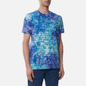 Мужская футболка Vans Tie Dye Checkerstripe English Lavender фото - 2