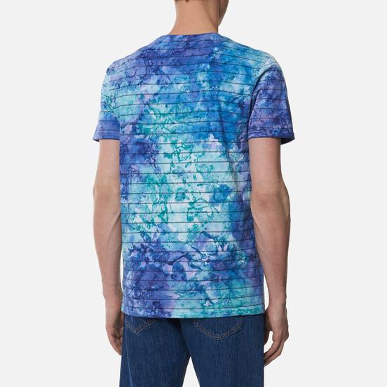Мужская футболка Vans Tie Dye Checkerstripe English Lavender