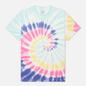 Мужская футболка Vans Drop V Spiral Tie Dye Rainbow Spectrum Tie Dye фото - 0