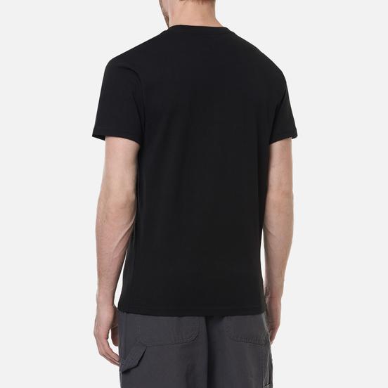 Мужская футболка Vans Anaheim Lips Pocket Black
