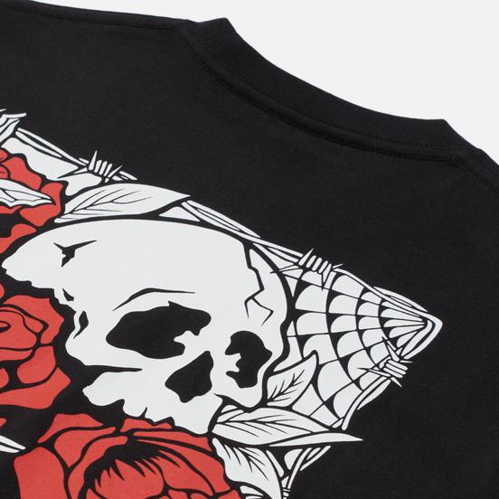Мужская футболка Vans Rose Bed Black