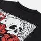 Мужская футболка Vans Rose Bed Black фото - 2