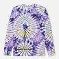 Мужской лонгслив Vans LS Burst Tie Dye English Lavender фото - 0