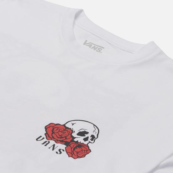 Мужской лонгслив Vans Rose Bed White