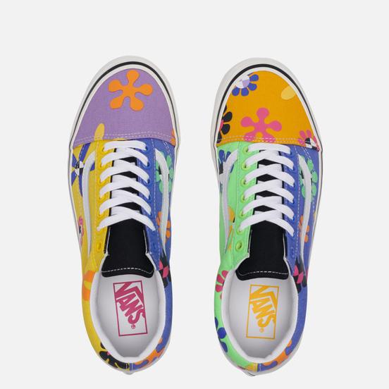 Мужские кеды Vans Old Skool 36 DX Anaheim Factory Psychedelic Floral