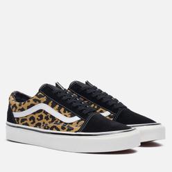 Кеды Vans Old Skool 36 DX Anaheim Factory Black/Tan Leopard