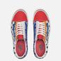 Кеды Vans Old Skool 36 DX Anaheim Factory Leather Check/Multi/Red фото - 1