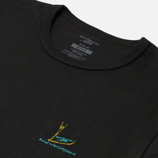 Мужская футболка Vans x Chris Johanson Alien Surfer Vintage Black