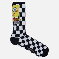 Носки Vans x SpongeBob SquarePants Crew Checkerboard