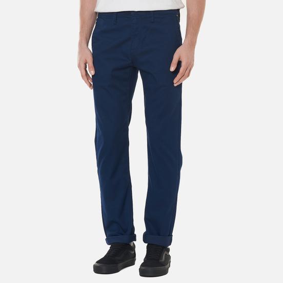 Мужские брюки Vans Authentic Chino Slim Dress Blues