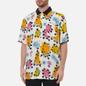Мужская рубашка Vans x SpongeBob SquarePants Airbrush Woven White/Multi фото - 2