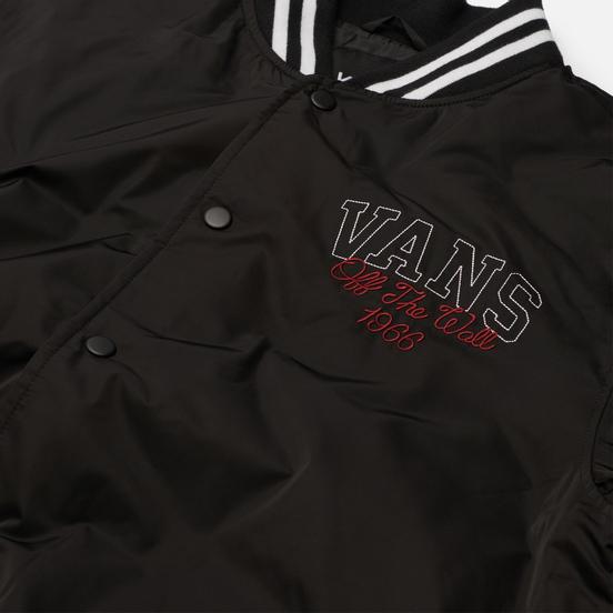 Мужская куртка бомбер Vans 66 Champs Varsity Black